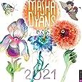 Masha D'yans 2021 Wall Calendar
