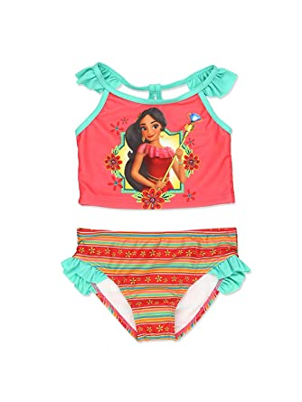 2ed1a81e23 Disney Elena Of Avalor Girls Swimwear Swimsuit (Little Kid/Big Kid) - Red