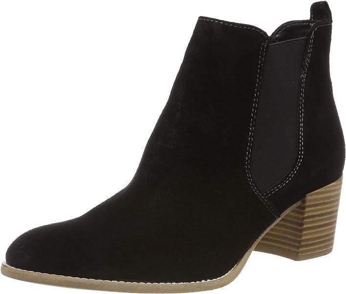 Tamaris Damen 1 1 25342 22 001 Chelsea Boots, Schwarz (Black