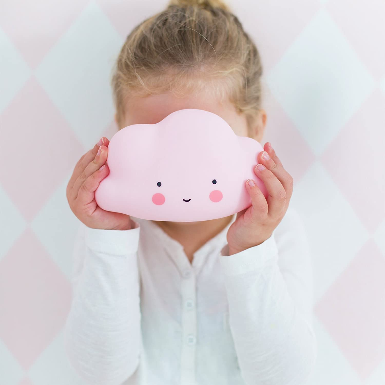 A Little Lovely Company, Lampe in Form von Cloud Rosa: Amazon.de: Baby