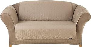 SureFit Furniture Friend Pet Throw - Loveseat Slipcover - Linen