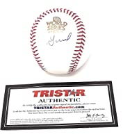 $129 » Jose Altuve Houston Astros Signed Autograph Official MLB World Series Baseball Tristar…