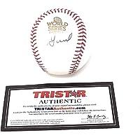 Jose Altuve Houston Astros Signed Autograph Official MLB World Series Baseball Tristar… photo