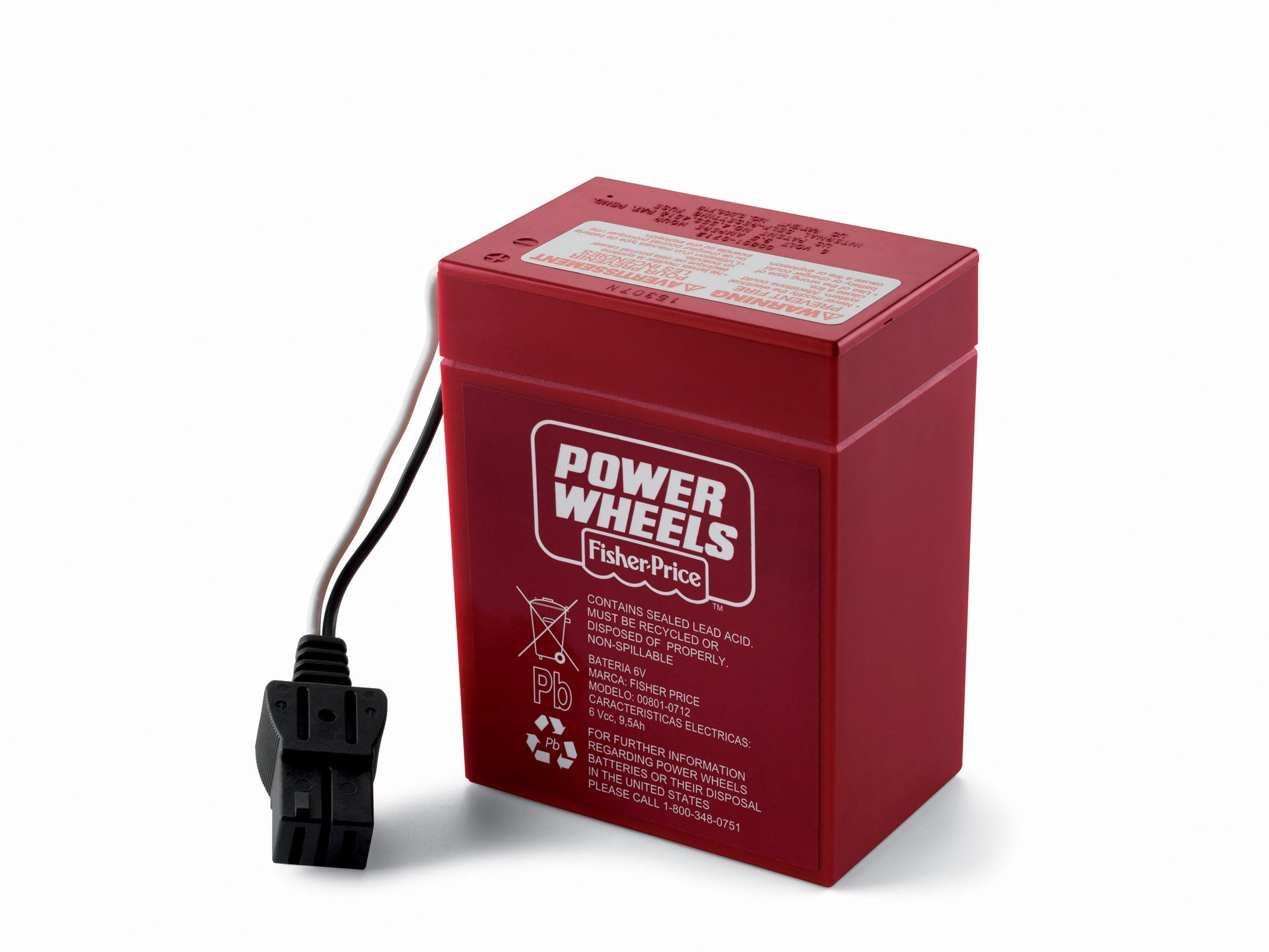 Power Wheels 6-Volt Rechargeable Replacement Battery by Power Wheels
