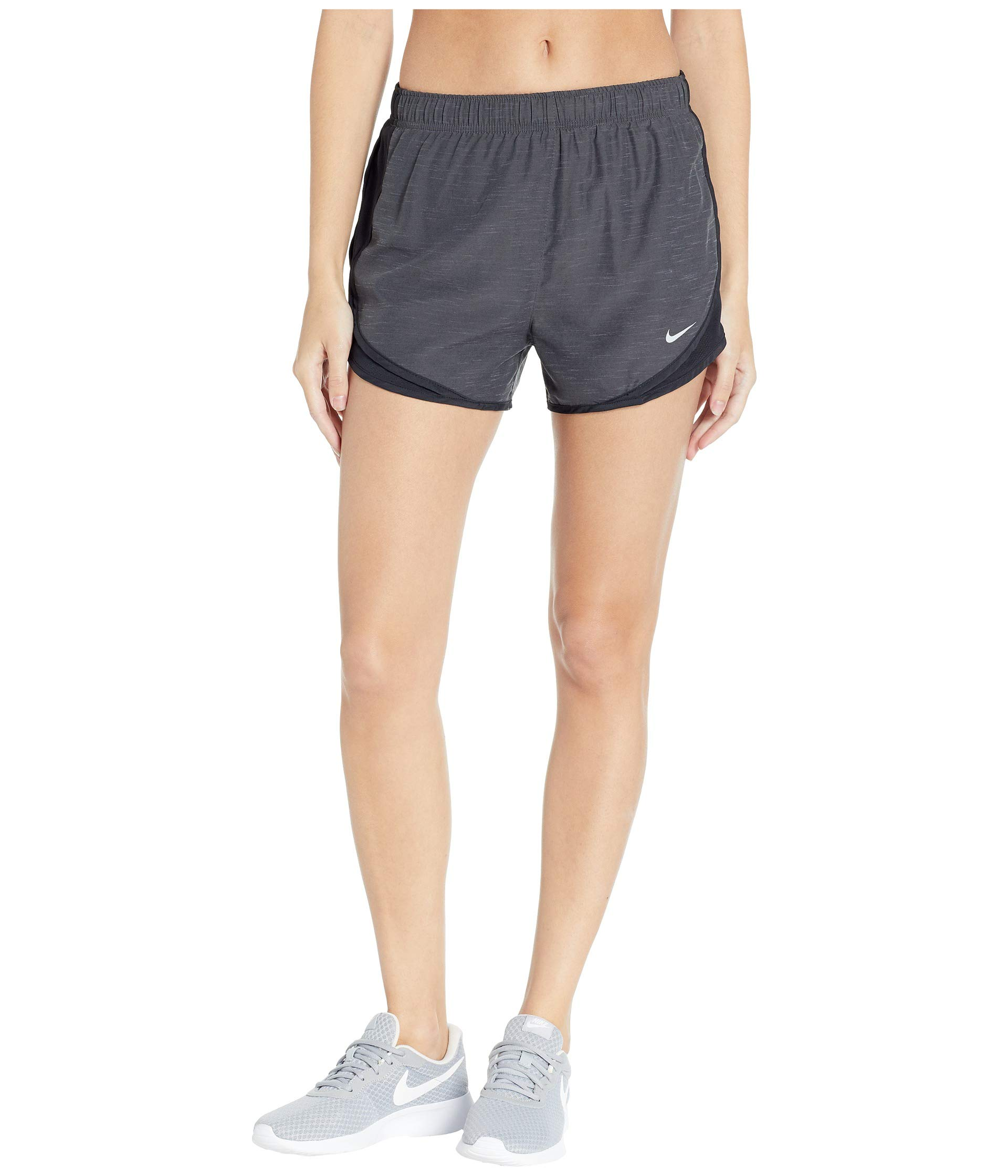 Nike Women's Dry Tempo Short Black Heather/Black/Black/Wolf Grey X-Small 3 by Nike (Image #1)
