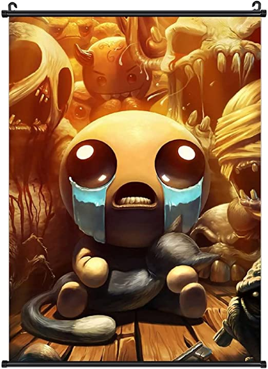 Binding of Isaac Poster Hangs a Picture Art Canvas Poster Wall Living Room Home Decoration 20