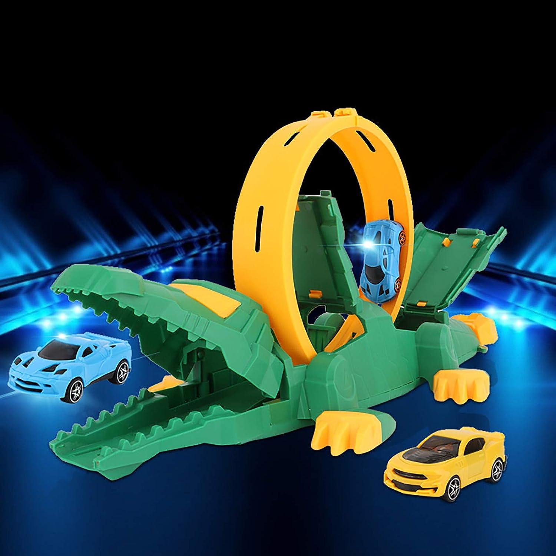 HINK Vehículo de expulsión mecánica Deslizante Ensamblaje de Bricolaje Lanzamiento de niños