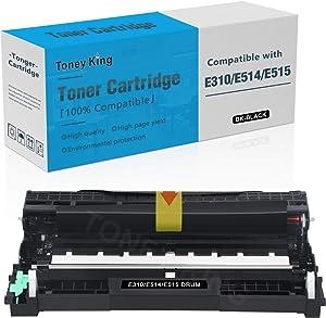 Compatible E310 E514 E515 Drum Unit Cartridge Replacement for Dell E310dw E514dw E515dw E515dn Printer Toner Cartridge (12,000 Pages High Yield, 1 Pack) by Toney King