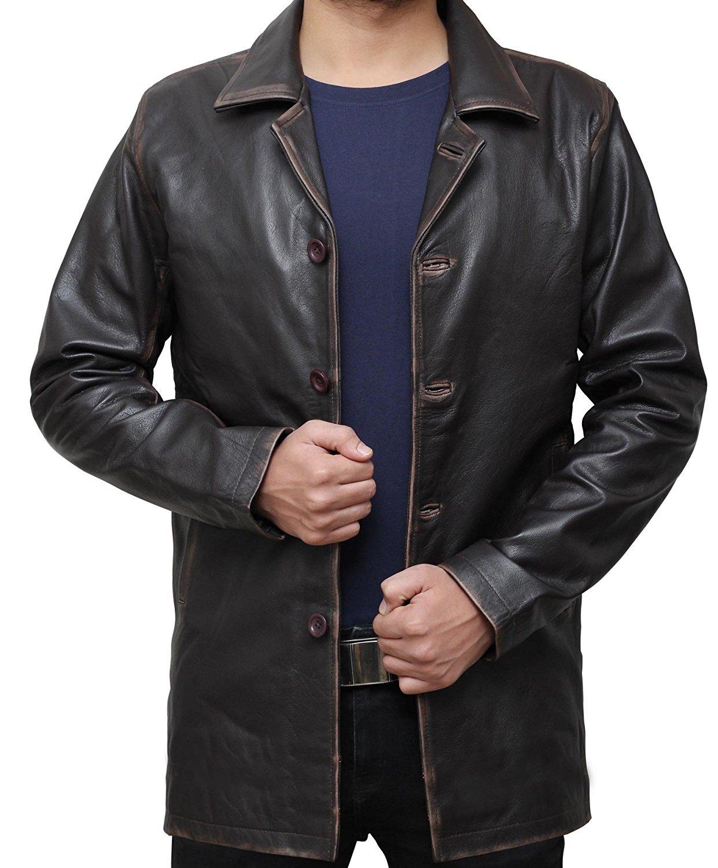 Decrum OUTERWEAR メンズ B075Y5H38T S|Brown - Supernatural Jacket Brown - Supernatural Jacket S