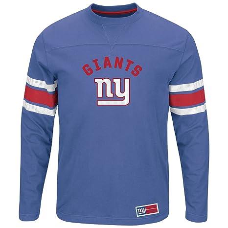 on sale adda2 7f0fd Amazon.com : Majestic Athletic New York Giants Blue Long ...