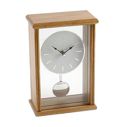Free grande orologio in legno di quercia tavolo moderno u - Orologi da tavolo moderni ...