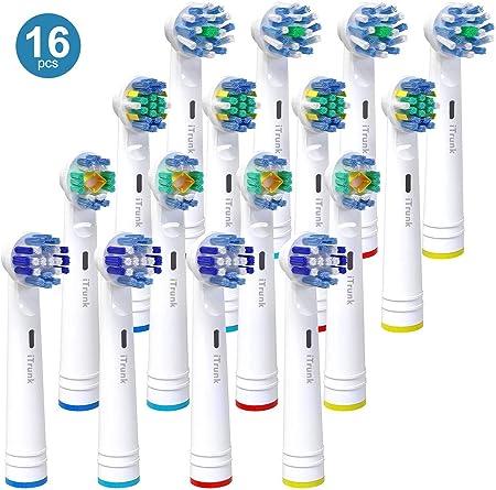 Original Braun Oral B CrossAction spazzolino elettrico Spazzole Confezione da 4 Azione