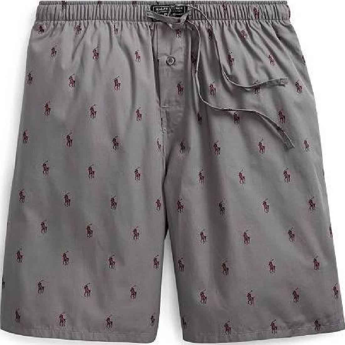 At Polo M Lauren Amazon Pajama Pony Size Ralph Allover Short Men'st OZiuPkXT