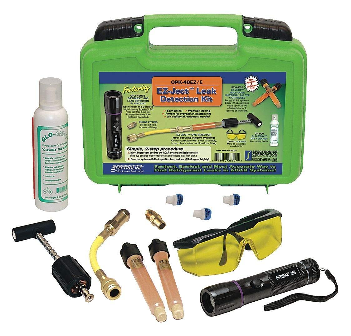 Spectroline Complete Uv Dye Injection Kit