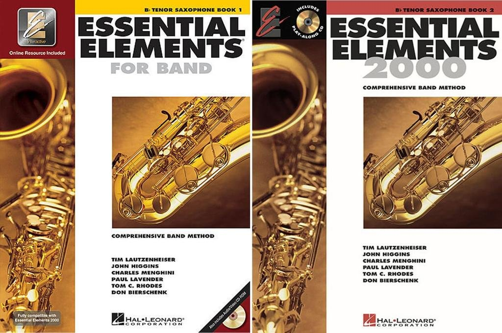 Download Essential Elements for Band - Bb Tenor Saxophone, Books 1-2, 2 Book Set pdf
