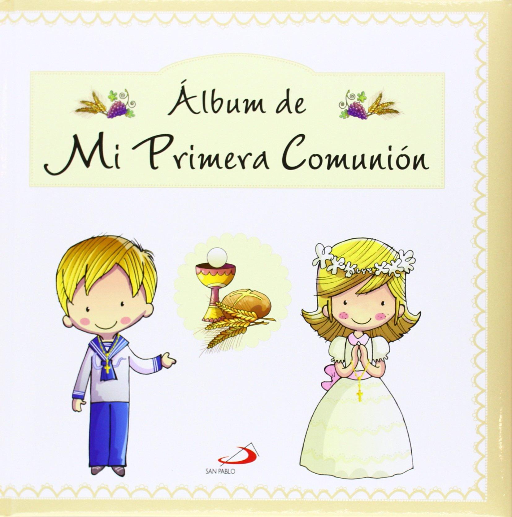 Álbum de mi primera comunión primeras comuniones amazon es jesús