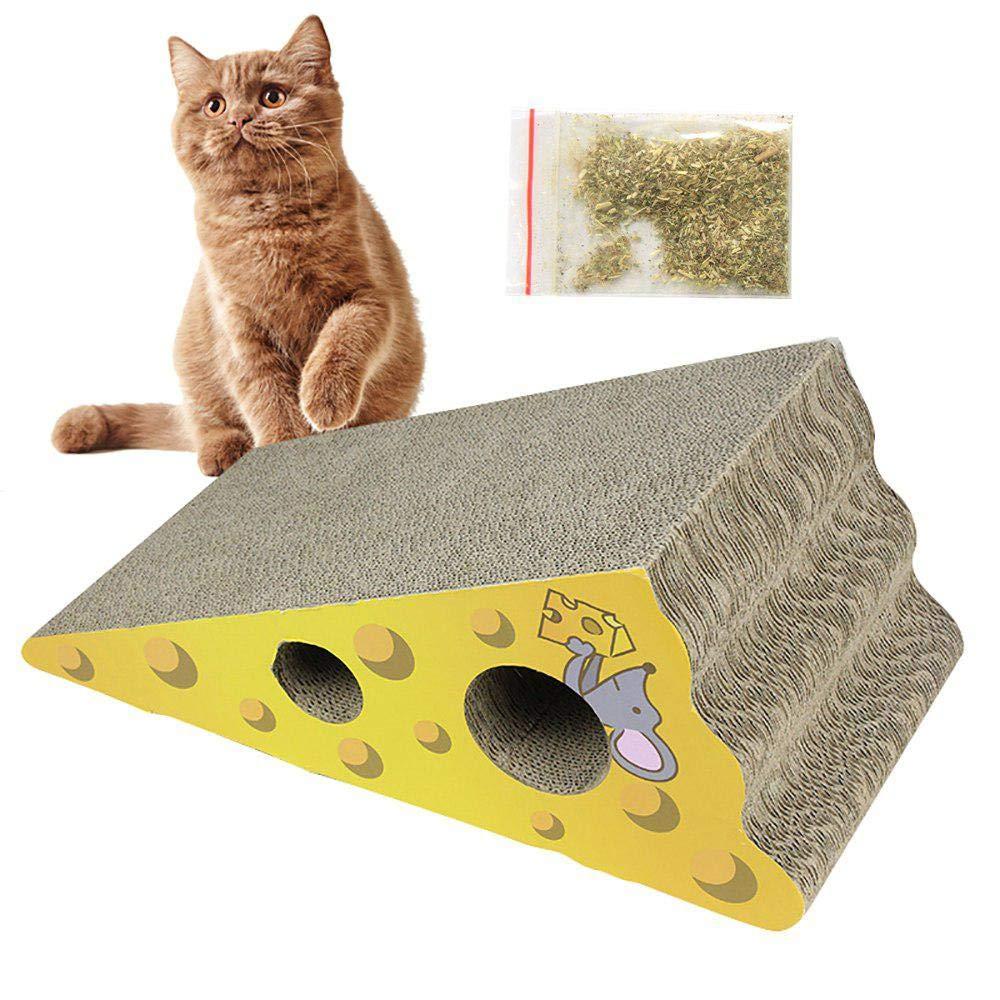 FOONEE Rascador de Gatos de cartón, Recambio para rascador de ...
