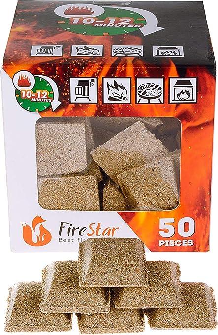 amazon com fireplace starter cubes fire starter squares 50pc rh amazon com wood fireplace fire starter fireplace fire starter log