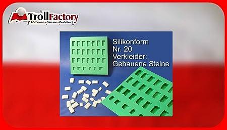 Silicone Mould Verkleider Facing Bricks Krippenbausteine Set Of 20