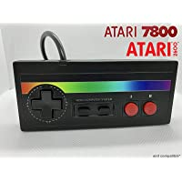 Atari Joystick 7800 2600 Controller Control Pad Commodore 64 - RAINBOW