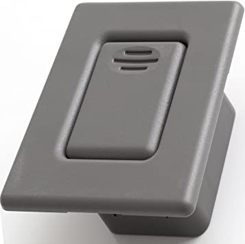 Amazon Com Back Seat Latch Release Handle Best For Folding Rear Row Bucket Fits 00 06 Silverado Tahoe Avalanche Suburban Sierra Yukon Escalade Replaces Gm 12477414 Button Lock Cover Accessories Gray Automotive