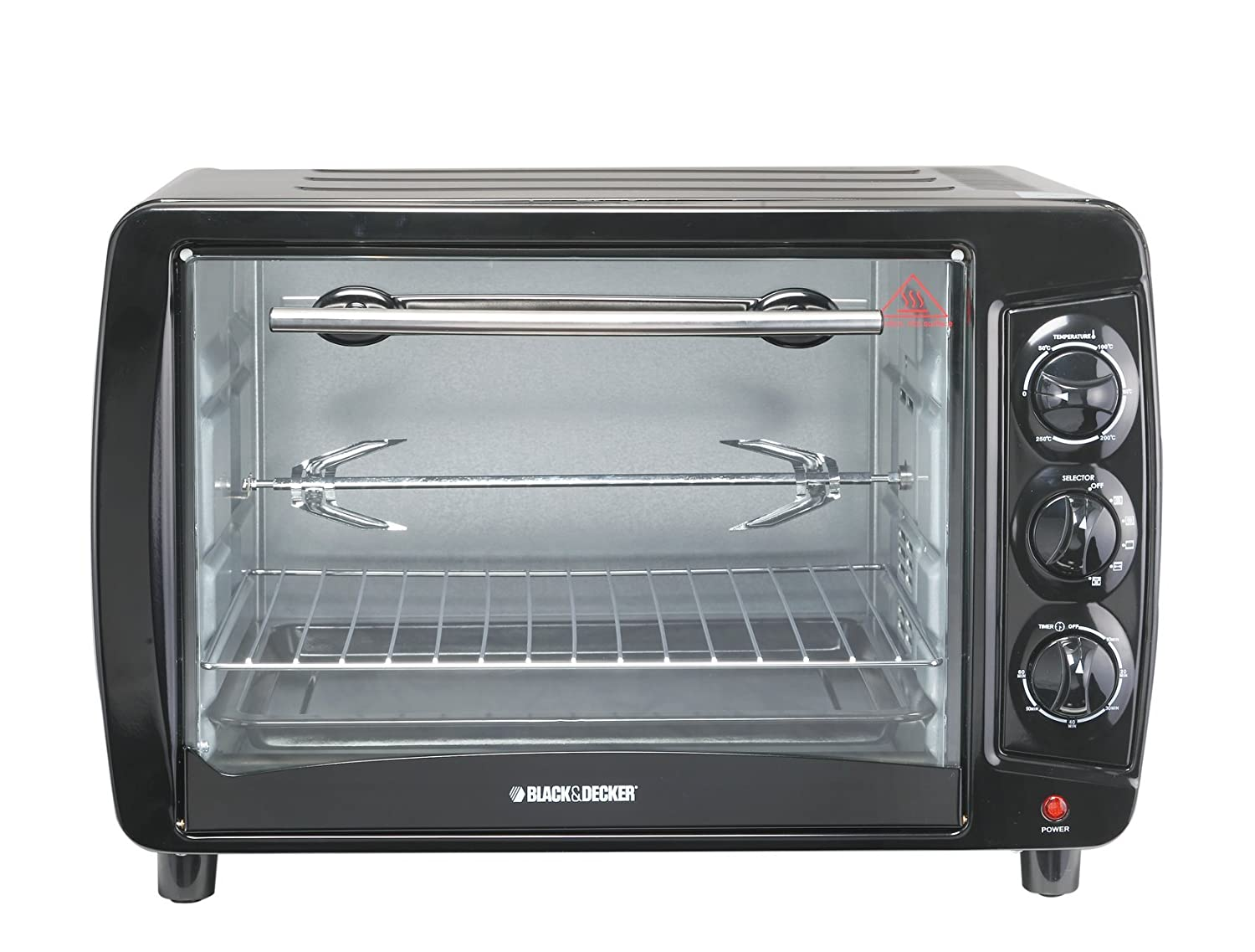 Black and Decker TRO55 35-Liter Toaster Oven, Large