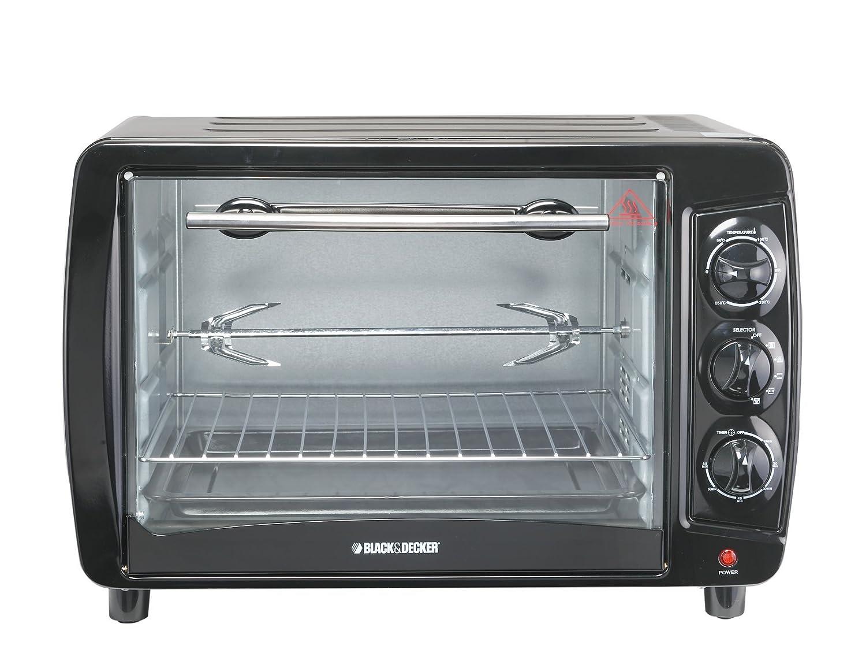 Amazon.de: Black und Decker tro55 35-liter Toaster Ofen, groß