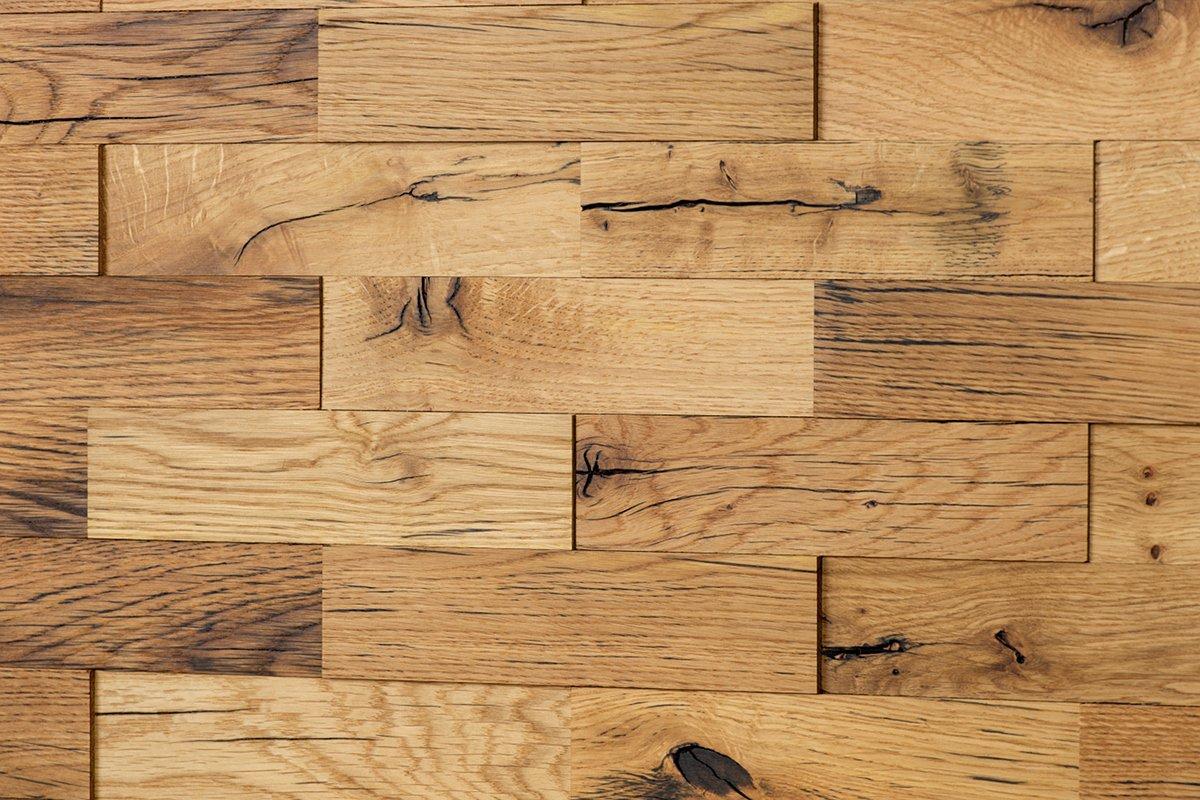 Amazon.de: wodewa Original Eiche Altholz Holz Wandverkleidung | 1m² ...