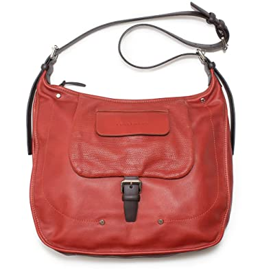 f3663c92e29 Amazon.com: LONGCHAMP Balzane Burgundy Red Hobo Leather Handbag Purse  Zipper NEW Bag: Shoes