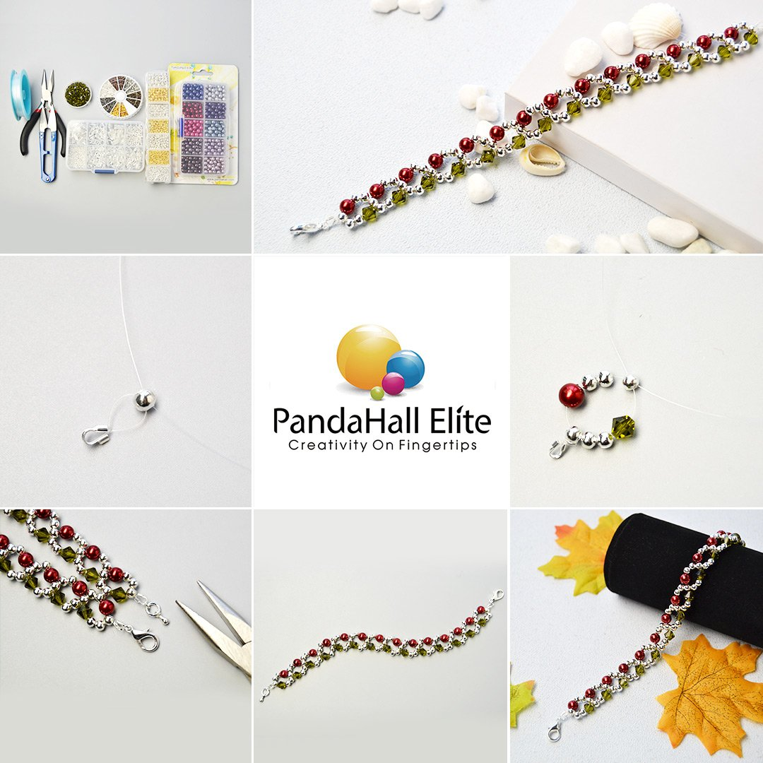 PandaHall Elite 240 pcs 6 Colors Brass Wire Guard Guardians Wire Protectors U Shape Wire Cable Protectors Loops for Bracelet Necklace Jewelry DIY Craft Making