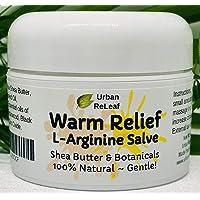Urban ReLeaf Warm Relief L-Arginine Salve ! Shea Butter & Botanicals, 100% Natural...