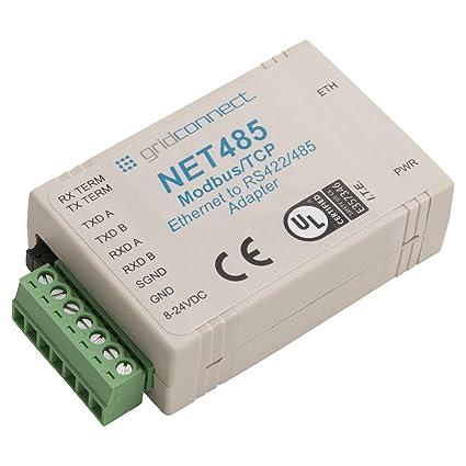 Amazon com: Grid Connect GC-NET485-MBModbus RS485 Adapter