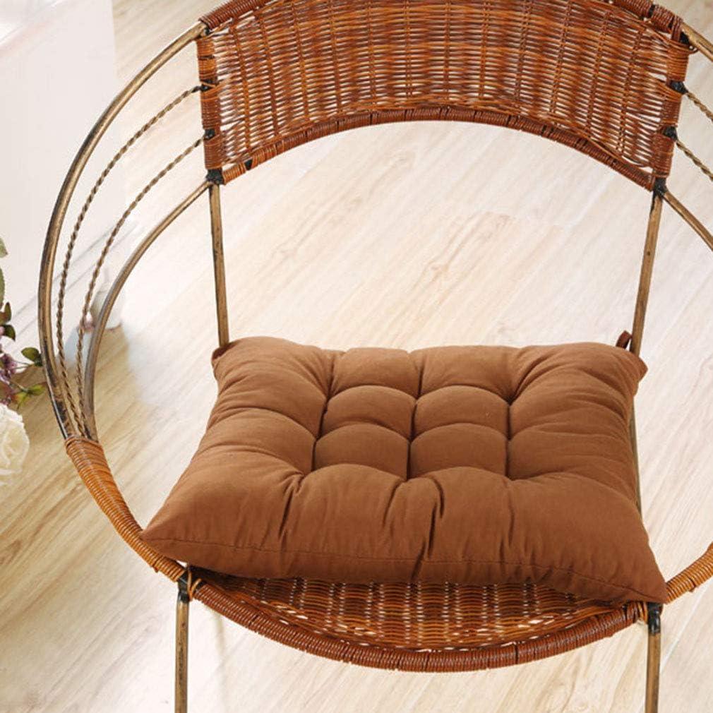 Junhouse Plum Seat Pad Dining Chair Pad Office Garden Chair Cushions 40x40cm