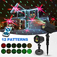 Innoo Tech Laser Christmas 12 in 1 Patterns Lights