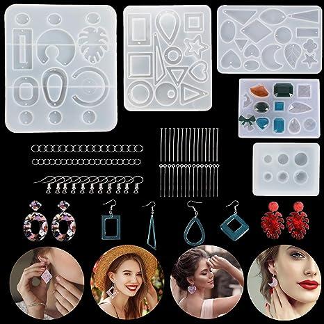 Lot de 800 boucles de r/églage en silicone pour cordon /élastique avec bo/îte de rangement pour boucles doreilles et loisirs cr/éatifs blanc, noir, bleu, rose