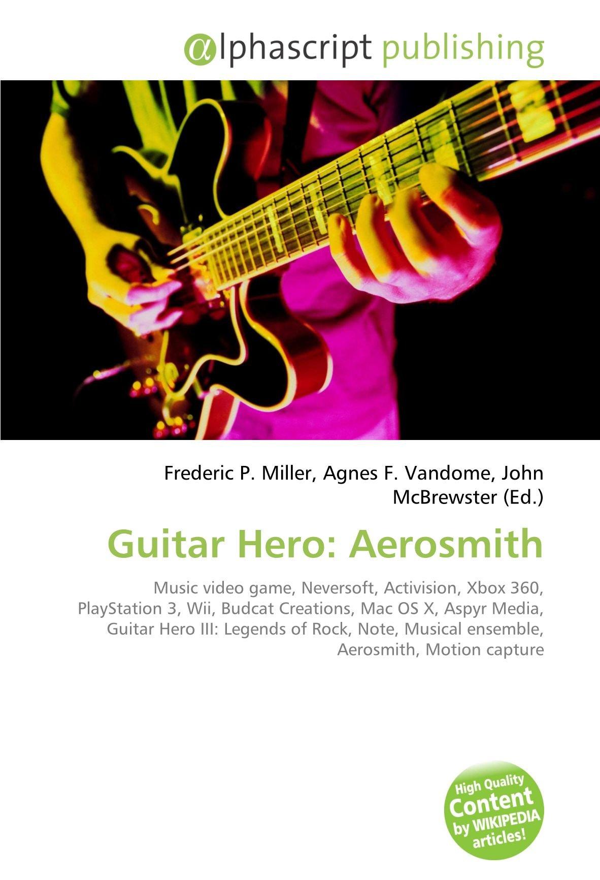 Guitar Hero: Aerosmith: Music video game, Neversoft, Activision ...