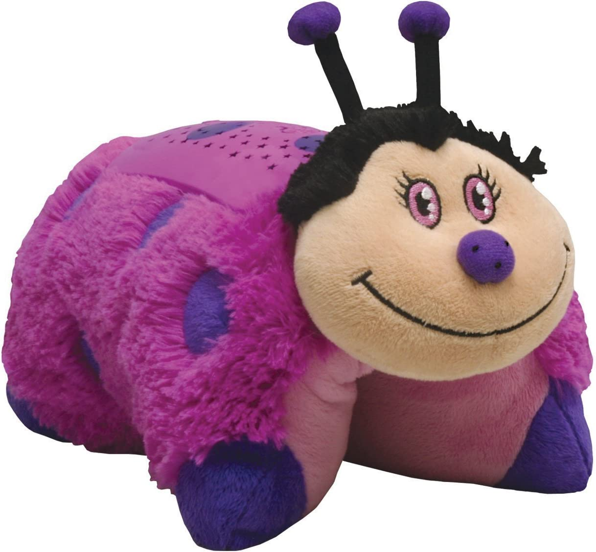 Amazon Com Dream Lites Pillow Pets Hot Pink Lady Bug Toys Games