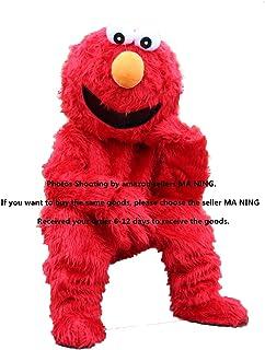 Elmo Red Monster Mascot Costume Plush Cartoon Costume  sc 1 st  Amazon.com & Amazon.com : Sesame Street Cookie Monster Mascot Costume Fancy Dress ...