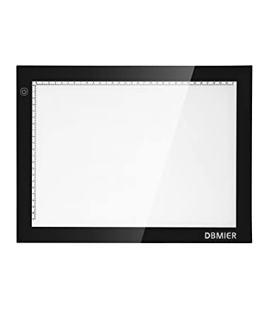 """Dbmier A4 LED Ultra-ThinTracing Light Pad Adjustable Light Box - 8.27"""" X 12.20&quot"""