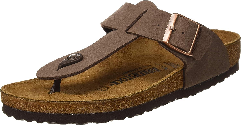 Birkenstock Medina Flip Flops Super sale period limited Shoes Men Excellent Brown
