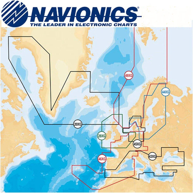 Lowrance Navionics Digital de navegación Mediterranean y Black Sea ...