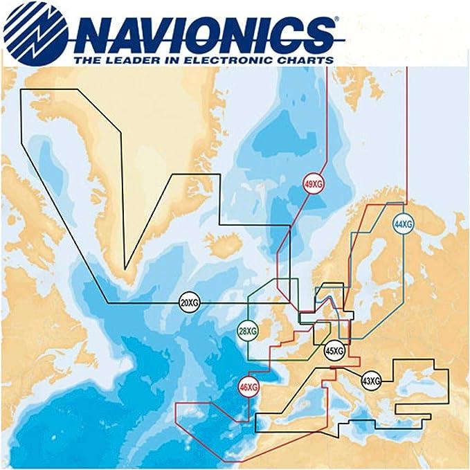 Lowrance Navionics Digital de navegación Mediterranean y Black Sea de Tarjeta SD, 000-11312-001: Amazon.es: Deportes y aire libre