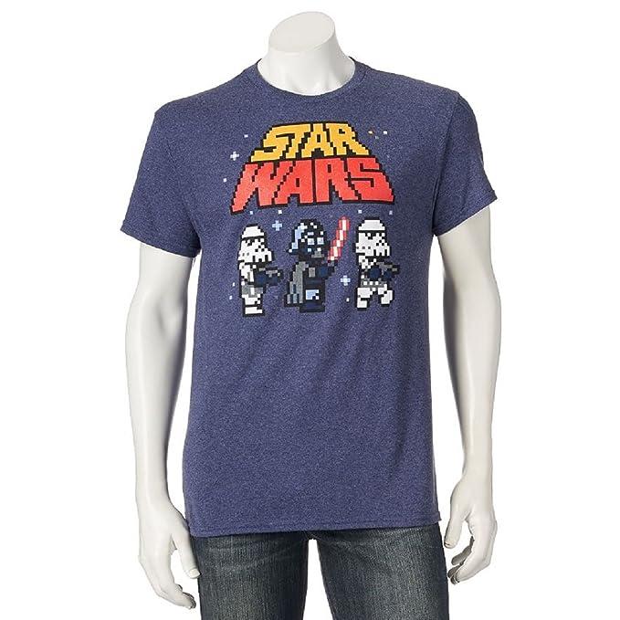 cab29596 Amazon.com: Disney Mens Star Wars Imperial Army Pixelated Tshirt (xx ...