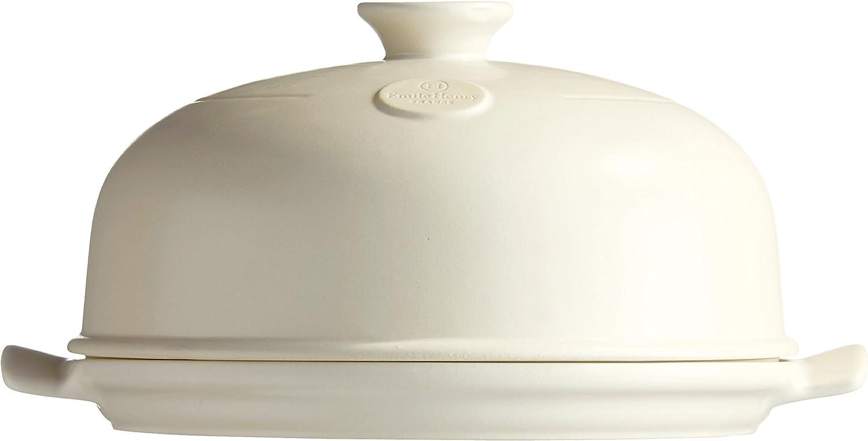 Burgundy Emile Henry Bread Cloche 33.5x28.5x16.5 cm Ceramic
