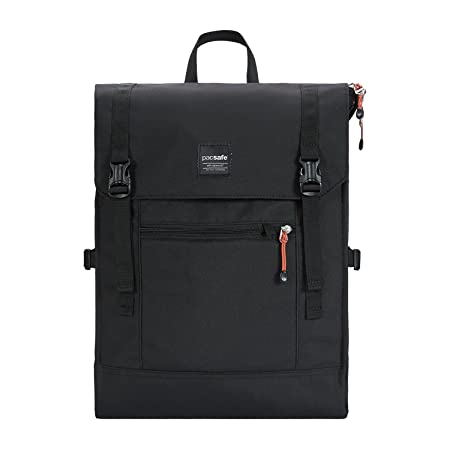 2b496c416 PacSafe Venturesafe 25L GII Anti-Theft Travel Pack Casual Daypack, 50 cm,  25 liters, Black (Black 100): Amazon.co.uk: Luggage