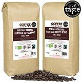Coffee Masters Granos de Café Peruano Orgánico Fairtrade 4x1kg - Ganador del Great Taste 2018