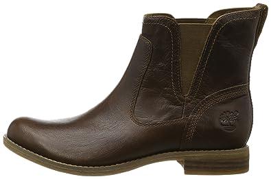 Timberland FTW_EK Savin Hill Chelsea, Botas Mujer, marrón-Braun (Brown), 36 EU: Amazon.es: Zapatos y complementos