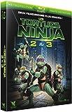 Les Tortues Ninja 2 & 3 : Le secret de la mutation + Les Tortues Ninja 3 : Nouvelle génération [Blu-ray]