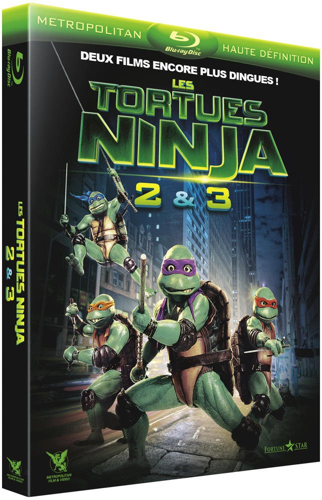 Les Tortues Ninja 2 & 3 : Le secret de la mutation + Les ...