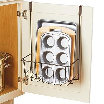 Organizador de almacenamiento para armario de cocina, tablas de cortar, hojas para hornear: Amazon.es: Hogar